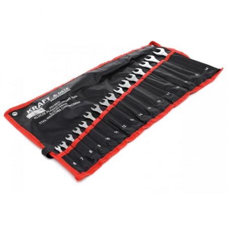 Set chei fixe combinate 16 piese 6-19, 22, 24mm KraftDele KD10922 TBC