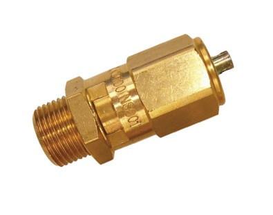 """Supapa de siguranță pentru compresor aer comprimat 1/4"""" 8 bari MA0270.1"""