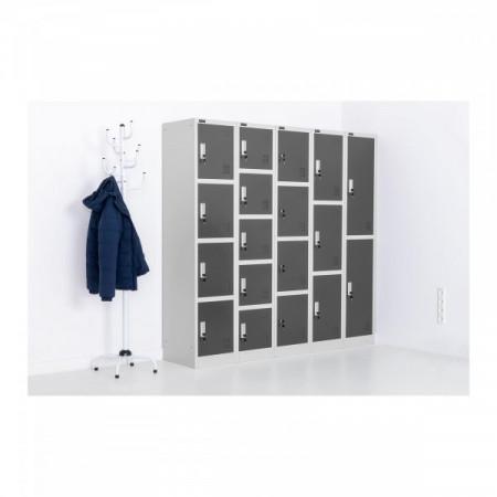 Dulap depozitare metalic 5 comp. modular 38x45x185 cm STAR_MCAB_08 FrommStarck 10260019