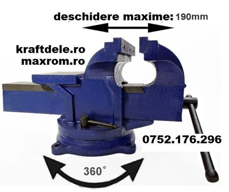 Menghina triaxiala rotativa cu nicovala 200 mm KraftDele KD1104 TBC