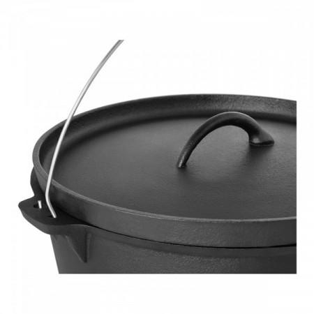 Oala din fonta, tuci cu suport - 10.75 litri Royal Catering 10011256
