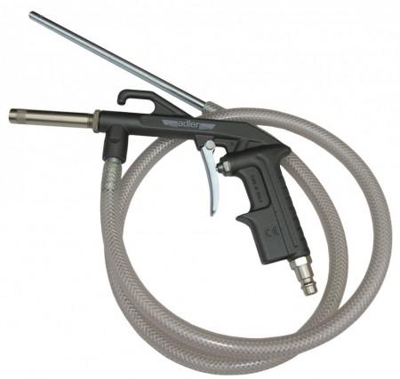 Pistol de sablat pneumatic cu furtun de absortie ADLER AD-0206.2