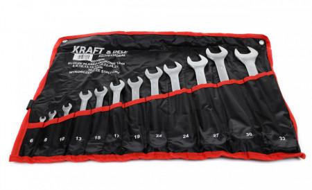 Set chei drepte-inelare 12 elemente 6-32mm KraftDele KD10938