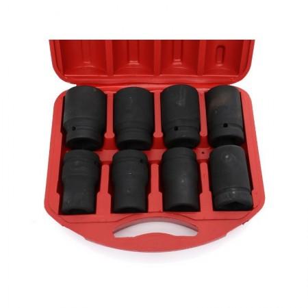 Set de chei tubulare IMPACT 8 piese KraftDele KD10216