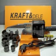 Aparat Sudura Tevi PPR 1200W 6 bacuri KraftDele KD1591 TBC