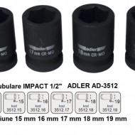 "Cheie tubulara de IMPACT 1/2"" AD-3512.17 17mm"