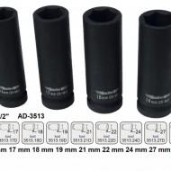 "Cheie tubulara de IMPACT 1/2"" ADLER AD-3513D.19 19mm varianta lunga"