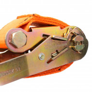 Chinga de ancoraj cu clichet si carlig 4m 1tone 25mm KreaftDele KD1323