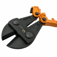 """Cleste fier beton 1200mm 48"""" 18mm cu manere ergonomice VERKE V06257"""