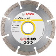 Disc diamantat pentru beton 115/22.23mm ECO Bosch V-2608615027