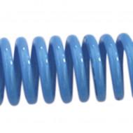 Furtun spiralat conectori aer comprimat din PU 12X8-10m; 11-32 bari. ADLER MA140.91