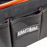 Geanta pentru scule 15 buzunare 3 interior 12exterior KraftDele KD2052