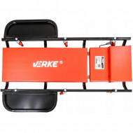 Pat mobil carucior pentru service auto 102cm metalic VERKE V83252