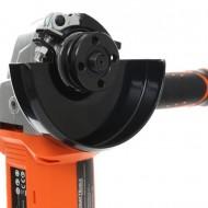 Polizor unghiular (flex) cu acumulator KRAFTDELE PRO-SERIES KD1772, 18V, 8500 RPM, 115 mm + ACUMULATOR 4 Amperi