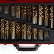 Set Burghie de titan pentru metal 170 buc. KD991 TBC