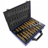Set de 170 burghie de titan HSS-TIN pentru metal TA1313 Tagred