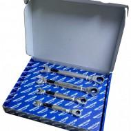 Set de chei inelare cu clichet si LED, 4 piese ADLER AD-3550.25 PROFI