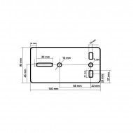 Troliu Manual 454kg 8m 4.5 mm V87250 VERKE