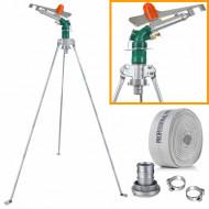 """Aspersor pulsatoriu cu trepied telescopic 2"""" 270 l/min duza 13mm B-40PY.28M.VERD Barracuda"""
