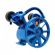 Cap compresor de aer cu 2 pistoane 400l/min 2-3kW 10 bari 2065 BLUE B-AC2065 Barracuda