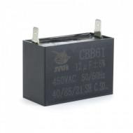 Condensator de pornire 12uF 450V AC B-Cp.12uF.450
