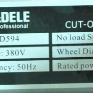 Debitator metal tip pendula 3000W 400mm 380V KraftDele KD594