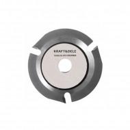 Disc de taiere lemn pentru polizor unghiular 125x22,2mm 3 dinti KD1059 Kraftdele