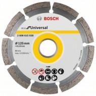 Disc diamantat pentru beton 125/22.23mm ECO Bosch V-2608615028