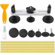 Dispozitiv pentru indreptat tabla caroseriei 6 adaptoare KD10661 Kraftdele