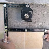 Instrument de masurat unghiuri sablonare KD10385 Kraftdele