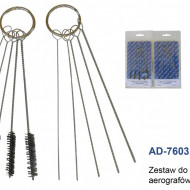 Kit de curatare pentru aerograf si pistol profesional MA0259.73