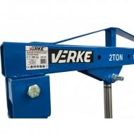 Macara de atelier 2T + Cric cutie viteza 0.5 T VERKE V80139