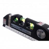 Nivela cu laser 650nm 1mW si sistem de masurat 250mm KD10437 KraftDele