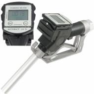 Pistol automat pentru motorina sau benzina cu contor LCD 60 l/min CPN negru V80206 VERKE
