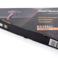 Pistol pentru spuma poliuretanica TEFLON profesional KraftDele KD10321