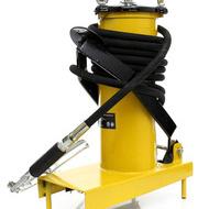 Pompa de gresat actionata la picior recipient 3L KraftDele KD1440
