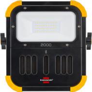 Proiector cu LED BLUMO 2000 A 20W 2100lm acumulator 2A si boxe Bluetooth B1171620 Brennenstuhl