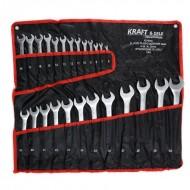 Set chei fixe + inelare combinate 25 piese 6-32mm KraftDele KD10930