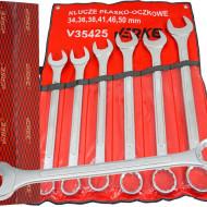 Set chei fixe + inelare combinate 6 piese 34-50mm V35425 Verke