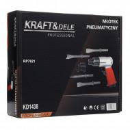 Set ciocan pneumatic de impact 4500bpm KraftDele KD1438