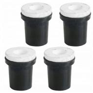Set de 4 duze pentru sablare 2-2.5-3-3.5 mm V81097 VERKE