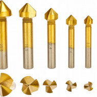 Set de freze conice 6 buc pentru lemn 6.3-20.5mm KD983 KraftDele