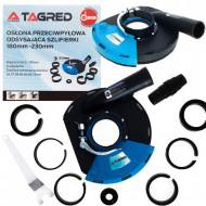 Sistem de aspirare a prafului pentru polizor unghiular 180mm TA1114 TAGRED