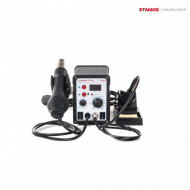 Statie de lipit cu aer cald 3 in 1 60+650W 480C S-LS-4 Basic Stamos 10021015