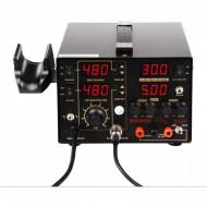 Statie de lipit cu aer cald 4 in 1 75+650 W 480C S-LS-1 Stamos 10020994