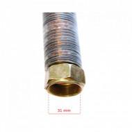 Teava racord cu radiator pentru cap compresor aer 31 mm 575 mm B-ACP2090