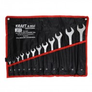 Set chei fixe combinate 12 piese 6-32mm KraftDele KD10926 TBC