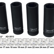 "Cheie tubulara de IMPACT 1/2"" ADLER AD-3513.22D 22mm varianta lunga"