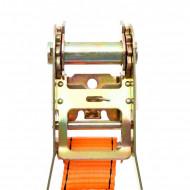 Chinga de ancoraj cu clichet si carlig 6m 5tone 50mm KreaftDele KD1331