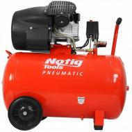 Compresor de aer industrial 100litri, 2.2kW, 220V 440L/min N3423 NOTIG